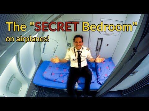 Where do PILOTS+FLIGHT ATTENDANTS sleep on PLANES?Explained by CAPTAIN JOE - UC88tlMjiS7kf8uhPWyBTn_A