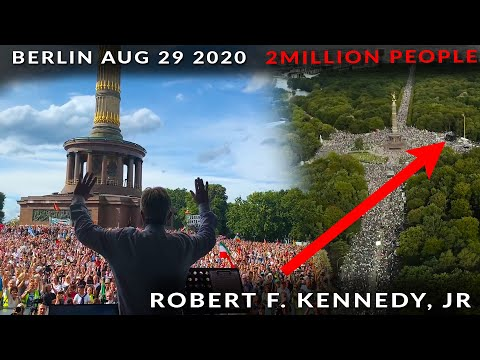 Media Wont Mention this Historic Speech EXPOSING GLOBAL PLANS FOR POPULATION - R.F Kennedy Jr.
