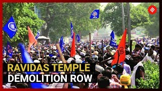 Violent protest over Ravidas temple demolition: Eyewitnesses' account of Delhi Dalit protests