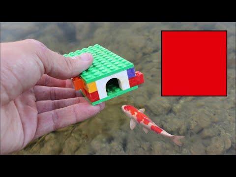 WORLDS smallest FISH-TRAP!! LEGO AND Flex seal - UCZdNPWAwux7zPVODRguoYMg