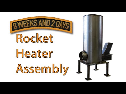 Rocket Stove Heater Parts List and Build Sequence - Part 2 - default