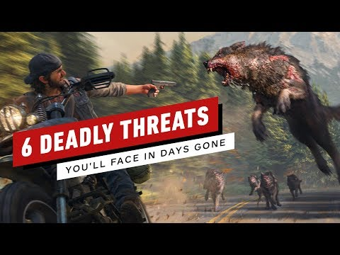 6 Deadly Threats You'll Face in Days Gone - UCKy1dAqELo0zrOtPkf0eTMw