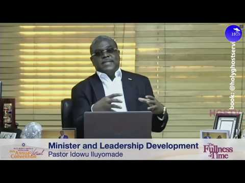 PASTOR IDOWU ILUYOMADE TEACHING  MINISTER AND LEADERSHIP DEPLOYMENT