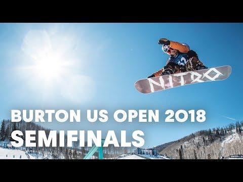 LIVE - Snowboarding Slopestyle Semifinals at Burton US Open 2018 - Men's Semifinals - UCblfuW_4rakIf2h6aqANefA