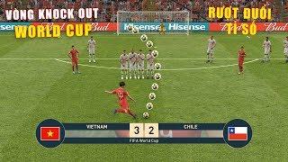 PES 19 | FIFA WORLDCUP | VÒNG 1/8 | VIETNAM vs CHILE - Giấc mơ Bóng Đá VIỆT NAM