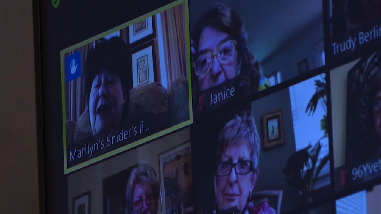 One Good Thing: 98-year-old hosts virtual group