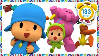 🎒 POCOYO in ENGLISH - Back to School [ 133 minutes ] | Full Episodes | VIDEOS and CARTOONS for KIDS