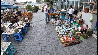 ตลาดนัดของเก่า ของมือสองที่ใหญ่ที่สุดในกรุงเทพฯ (The biggest antique market in Bangkok,Thailand)