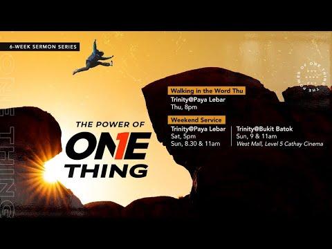 Trinity Christian Centre - Sat 5pm (SGT) English Online Service
