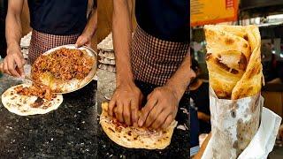 Famous Kusum Roll Kolkata | Chicken Kathi Roll | Calcutta Style Egg Kathi Roll | Indian Street Food