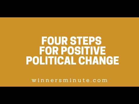 Four Steps for Positive Political Change // The Winner's Minute With Mac Hammond