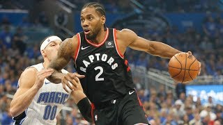 Ibaka Stuffs Gordon's Dunk! Kawhi 34 Pts Game 4! 2019 NBA Playoffs