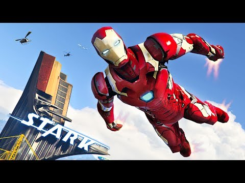 GTA 5 Mods - IRON MAN 2 0 MOD!! GTA 5 Iron Man Mod Gameplay