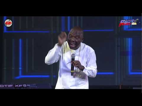Dr Charles Apoki Ministering at Gospel Groove 2019