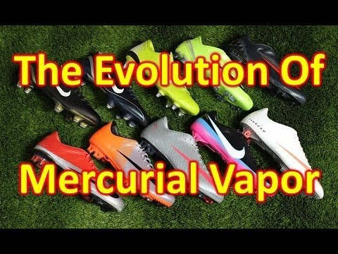 The Evolution of the Nike Mercurial Vapor - UCUU3lMXc6iDrQw4eZen8COQ