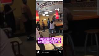 Jazzguns Went To Popeyes To Try To Order The New Chicken Sandwich But Run Into A Long Line 🍗