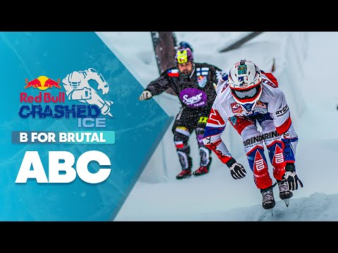 B stands for brutal. | ABC of Crashed Ice Part 1 - UCblfuW_4rakIf2h6aqANefA