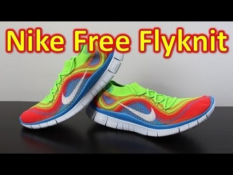 on sale 5fb3c 04513 Nike Free Flyknit+ Electric Green - Unboxing + On Feet