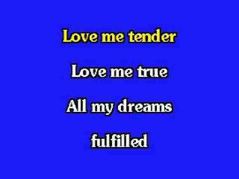 ELVIS KARAOKE-LOVE ME TENDER (LIVE).mp4 - UCRA8ACfpQ65nE0yLHZx1GEg