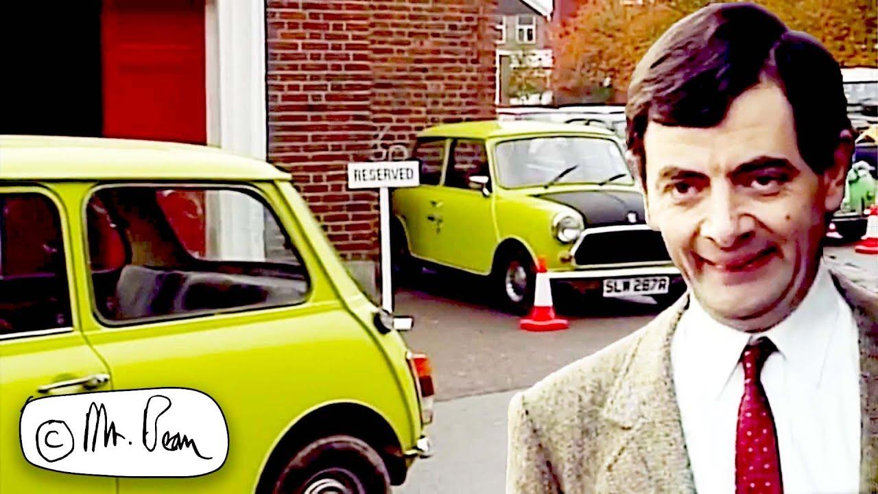 Mr Bean PARKING GENIUS | Mr Bean Funny Clips | Mr Bean Official