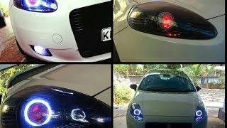 Come smontare il faro anteriore Fiat Punto Evo