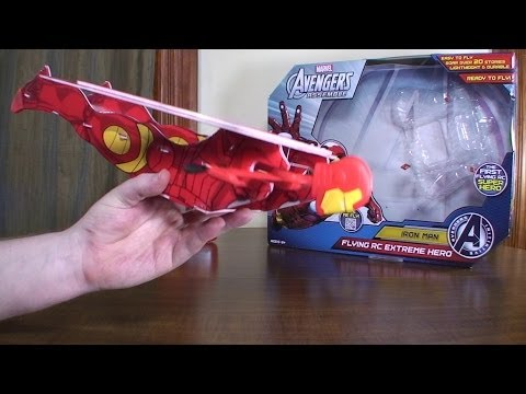 EB Brands - Iron Man Flying RC Extreme Hero - Review and Flight - UCe7miXM-dRJs9nqaJ_7-Qww