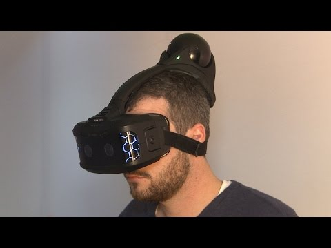Hands-On With a Totally Wireless VR Headset - CES 2015 - UCKy1dAqELo0zrOtPkf0eTMw