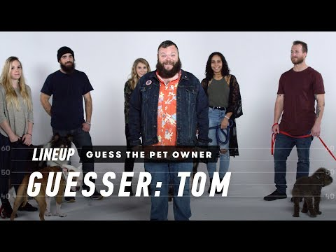 Match the Dog to Their Owner (Tom) | Lineup | Cut - UCbaGn5VkOVlcRgIWAHcrJKA
