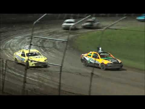 SSA Junior Sedans Feature - Lismore Speedway - 24.04.21 - dirt track racing video image