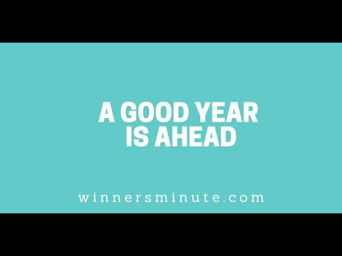 A Good Year Is Ahead // The Winner's Minute With Mac Hammond