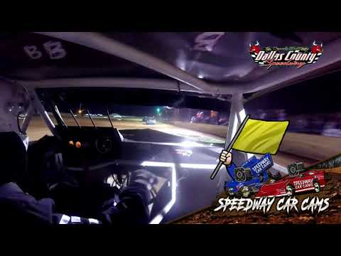 #53 Richard Burks - Pure Stock - 04-30-2021 Dallas County Speedway - In Car Camera - dirt track racing video image