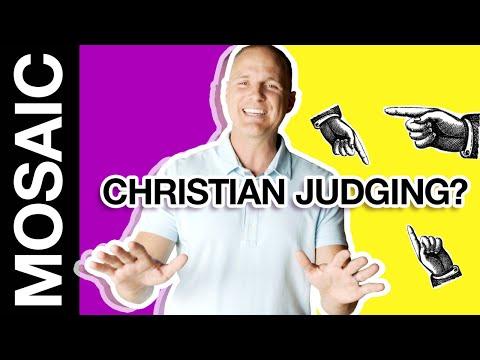 DON'T JUDGE  DUMB STUFF CHRISTIANS SAY