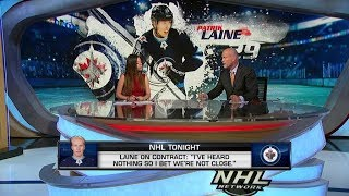 NHL Tonight:  Laine not expecting to sign deal before training camp  Aug 19,  2019