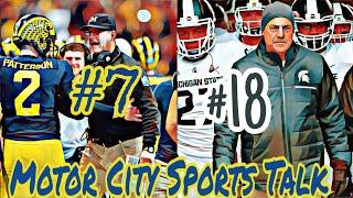 College Football AP Preseason Rankings: Michigan #7 & Michigan State University #18!!!