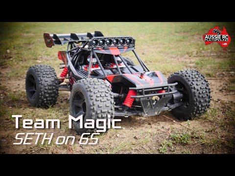 "Team Magic Seth Desert Buggy on 6S with Badlands 3.8"""