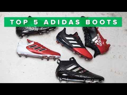 new york c8c70 5369e Top 5 BEST adidas boots 2017  wPurecontrol, Purechaos, Copa 17.1 and X16