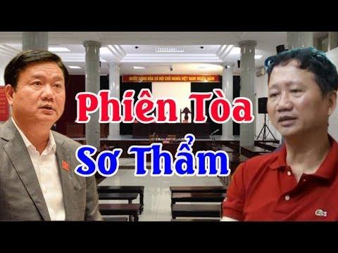 Phiên tòa sơ thẩm ông Đinh La Thăng và Trịnh Xuân Thanh