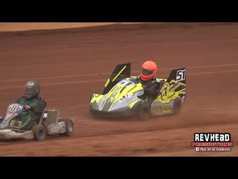 Speedway Karts Winter Series Round 3 - Fraser Shores Maryborough Speedway - 29/8/2021 - dirt track racing video image