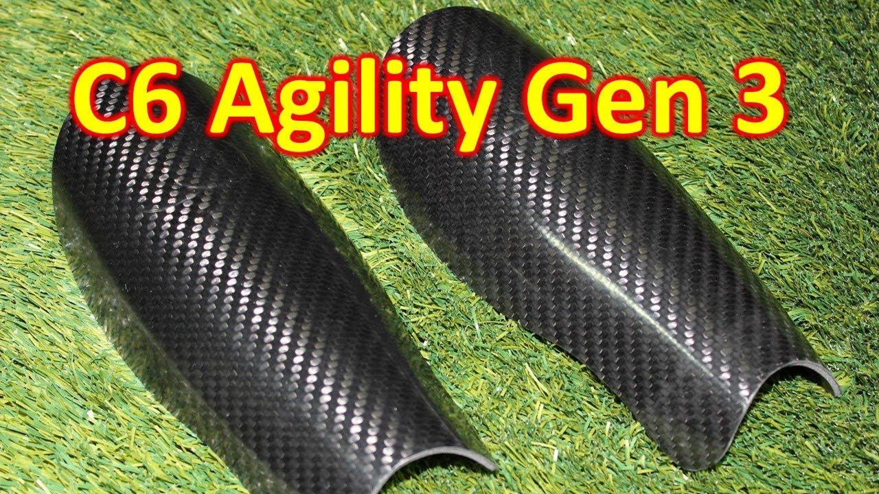0ad71116ac96 C6 Agility Carbon Fiber Shin Guard 3rd Generation Review   AudioMania.lt