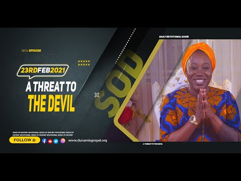 Dr Becky Paul-Enenche - SEEDS OF DESTINY  TUESDAY FEBRUARY 23, 2021