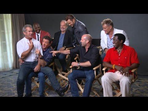 Sylvester Stallone, Cast Talk 'The Expendables 3' - UCBi2mrWuNuyYy4gbM6fU18Q