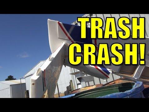 WIN - I found a crashed RC jet (turbine) plane in a trash can! - UCQ2sg7vS7JkxKwtZuFZzn-g