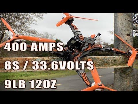 8S Hildabeast 570mm FPV Drone | APD120F3 | APD PDB500 | 400AMPS - UCuu37nijNt-BcJlrCLKBJtQ