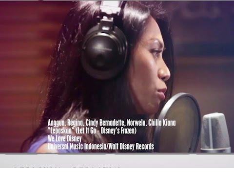 Lepaskan (Feat. Chilla, Cindy Bernadette, Regina Ivanova & Nowela)