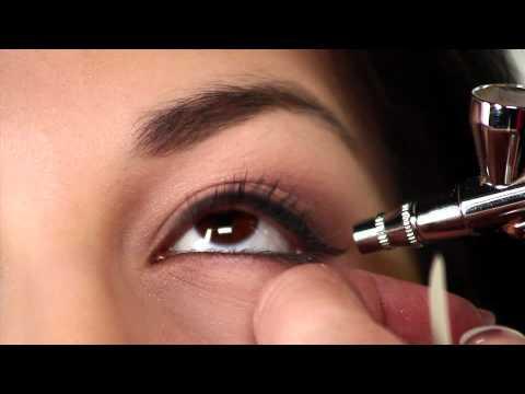 Dinair Airbrush Makeup | How To Do Bridal Airbrush Makeup - UCpRkuX_BlimpPdQ0QeiHdHg