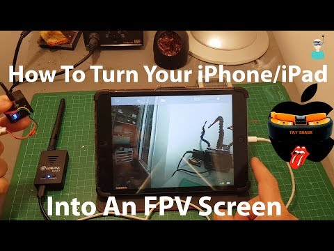 How To Turn Your iPhone Into An FPV Screen - Eachine R051 Testing & Overview - UCOs-AacDIQvk6oxTfv2LtGA