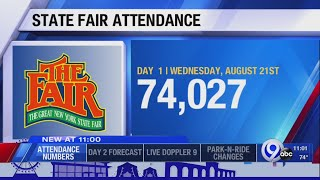 Just over 74,000 people come out for Day One at the fair