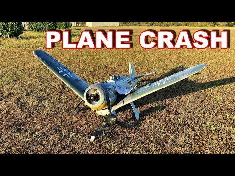 WORST RC PLANE CRASH EVER!! - FW190 BRUTALLY DESTROYED!!! - TheRcSaylors - UCYWhRC3xtD_acDIZdr53huA