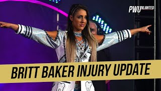 Britt Baker Injury Update After Suffering A Concussion At Fight For The Fallen