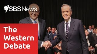 Audience gives Bill Shorten the nod in the first televised leaders debate